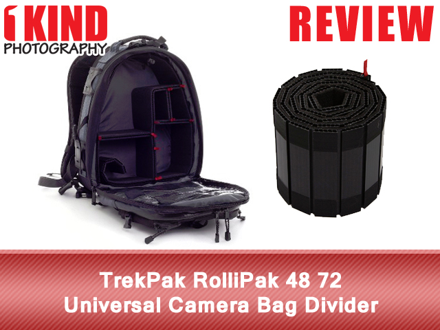 TrekPak RolliPak 48 72 Universal Camera Bag Divider