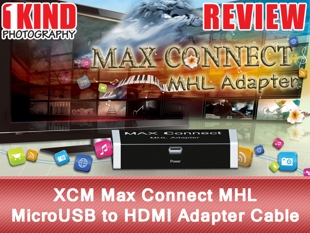 XCM Max Connect MHL MicroUSB to HDMI Adapter Cable