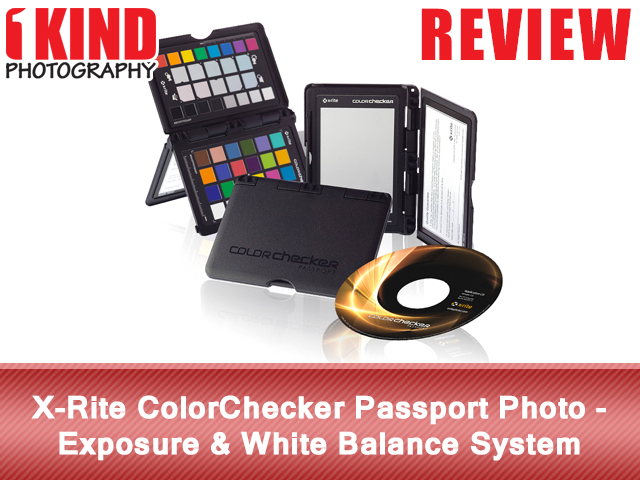 X-Rite ColorChecker Passport Photo - Exposure & White Balance System