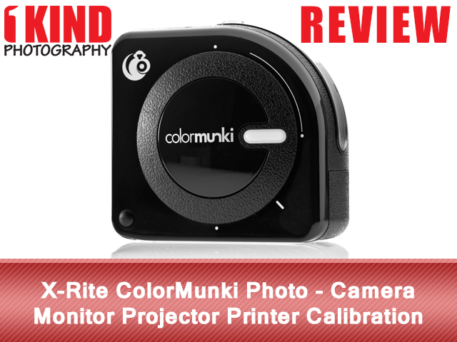 X-Rite ColorMunki Photo - Camera Monitor Projector Printer Calibration