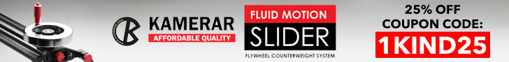 Kamerar Fluid Motion Slider Flywheel Counterweight System Coupon Code