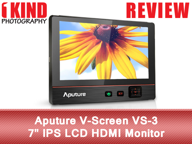 Aputure V-Screen VS-3 IPS LCD HDMI Monitor