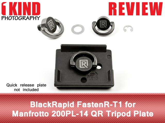 BlackRapid FastenR-T1 for Manfrotto 200PL-14 QR Tripod Plate
