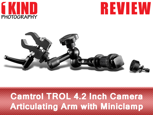 Camtrol TROL 4.2 Inch Camera Articulating Arm with Miniclamp