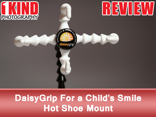 DaisyGrip For a Child's Smile Hot Shoe Mount