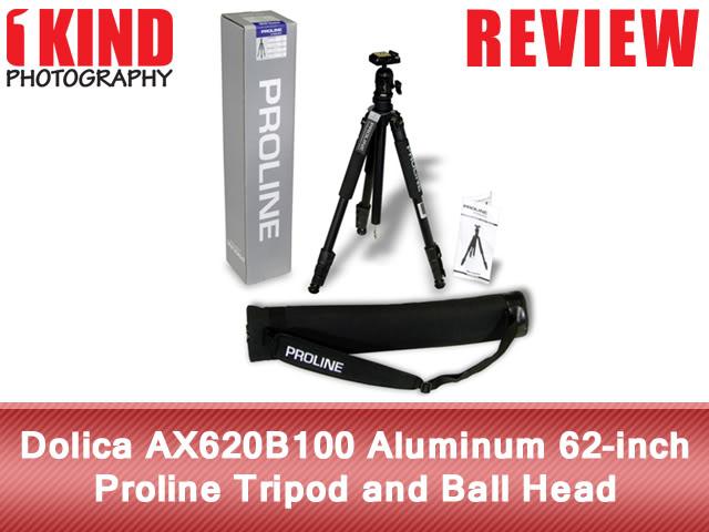Dolica AX620B100 Aluminum 62-inch Proline Tripod and Ball Head
