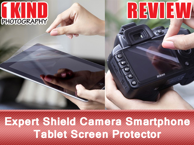 Expert Shield Camera Smartphone Tablet Screen Protector