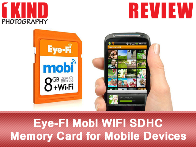 Eye-Fi Mobi WiFi SDHC Memory Card for Mobile Devices (iPhone, iPad or Android)