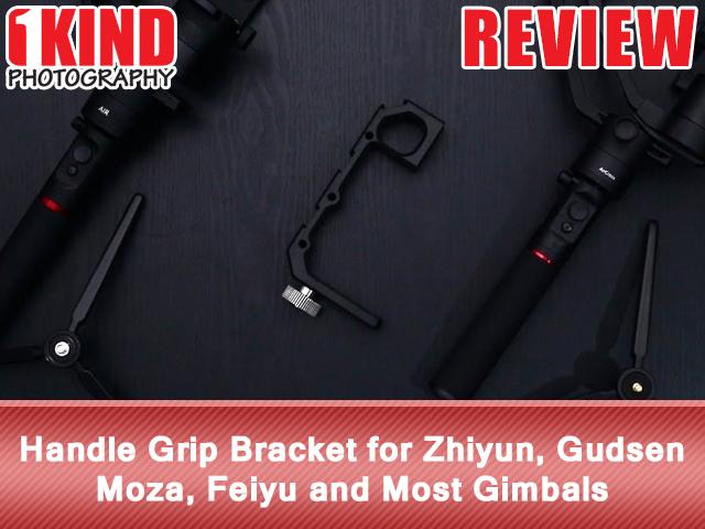 Handle Grip Bracket for Zhiyun, Gudsen Moza, Feiyu and Most Gimbals