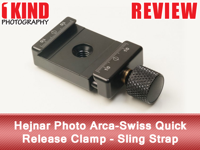 Hejnar Photo Arca-Swiss Quick Release Clamp - Sling Strap