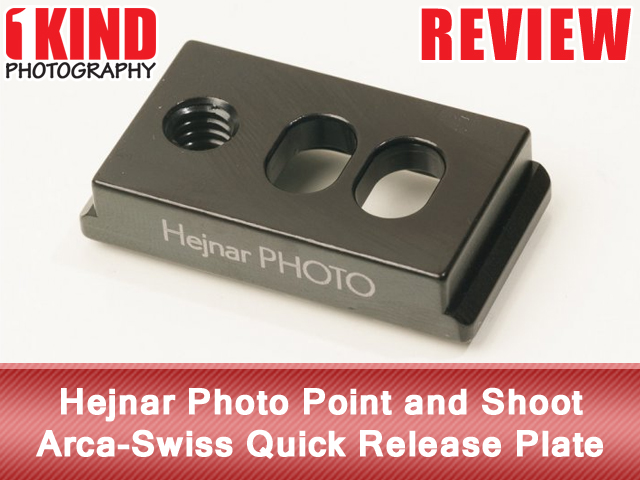 Hejnar Photo Point and Shoot Arca-Swiss Quick Release Plate