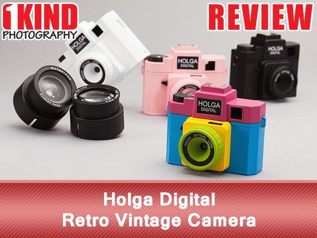 Holga Digital Retro Vintage Camera