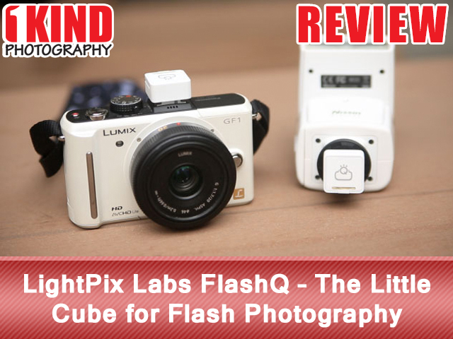 LightPix Labs FlashQ - The Little Cube for Flash Photography