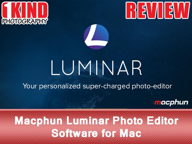 Macphun Luminar Photo Editor Software for Mac