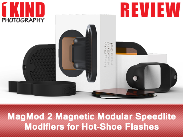 MagMod 2 Magnetic Modular Speedlite Modifiers for Hot-Shoe Flashes