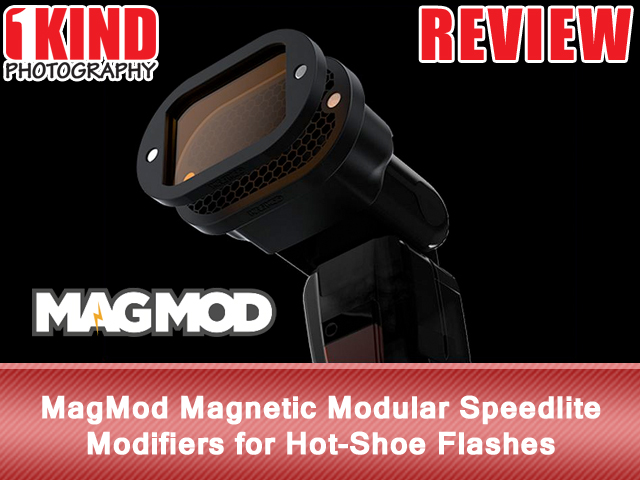 MagMod Magnetic Modular Speedlite Modifiers for Hot-Shoe Flashes