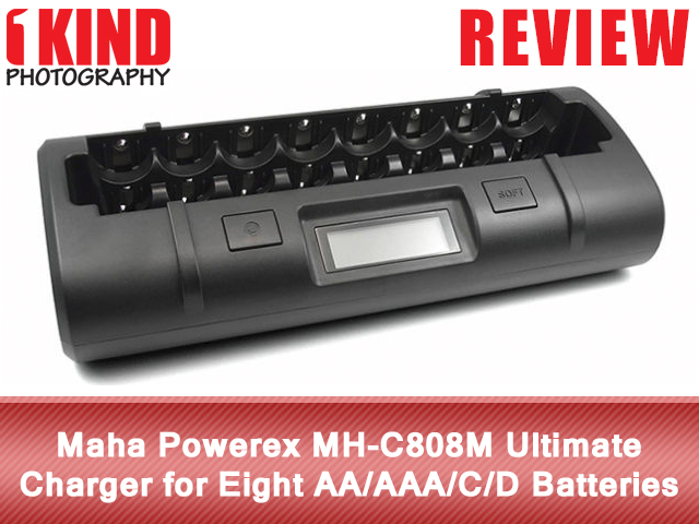 Maha Powerex MH-C808M Ultimate Charger for Eight AA/AAA/C/D Batteries