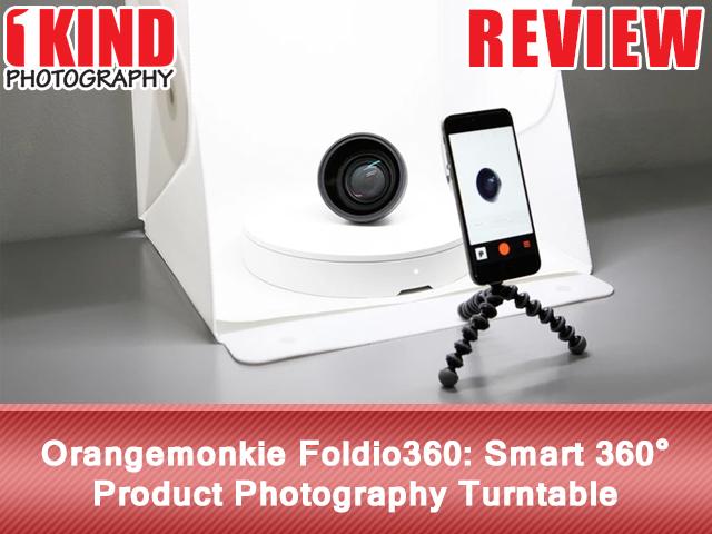 Orangemonkie Foldio360 Smart 360° Product Photography Turntable