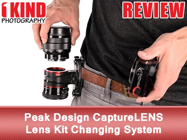 Peak Design CaptureLENS Lens Clip Kit Changing System