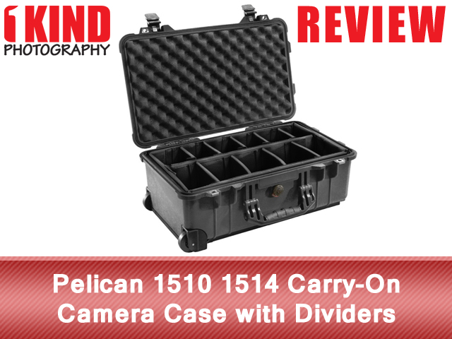 Pelican 1510 1514 Carry-On Camera Case