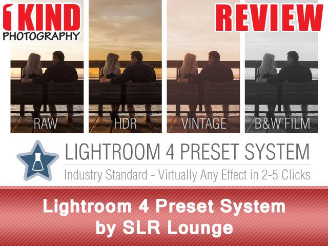 Lightroom 4 Preset System by SLR Lounge
