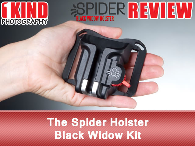 The Spider Holster Black Widow Kit