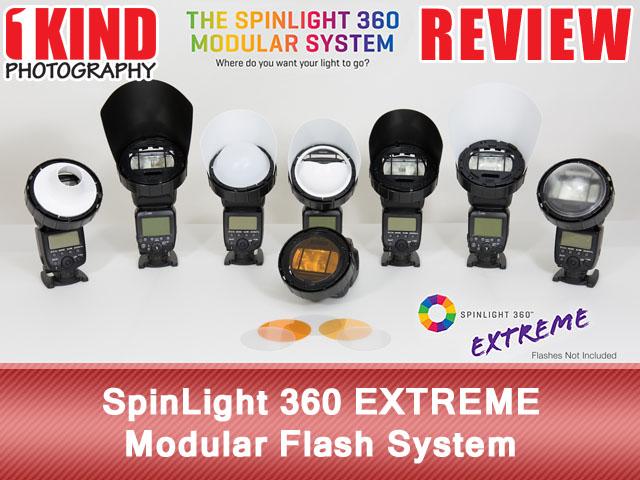 SpinLight 360 EXTREME Modular Flash System
