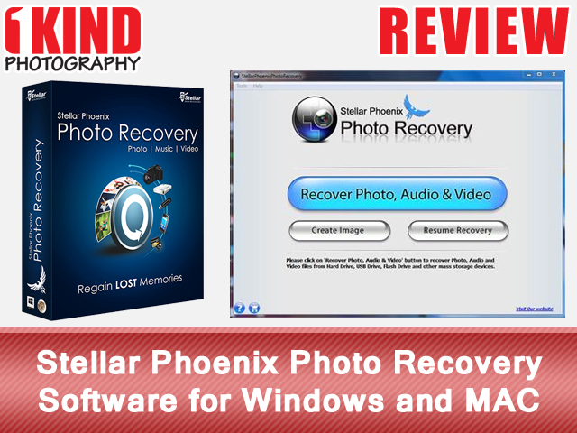 Stella Phoenix Photo Recovery Software for Windows and MAC