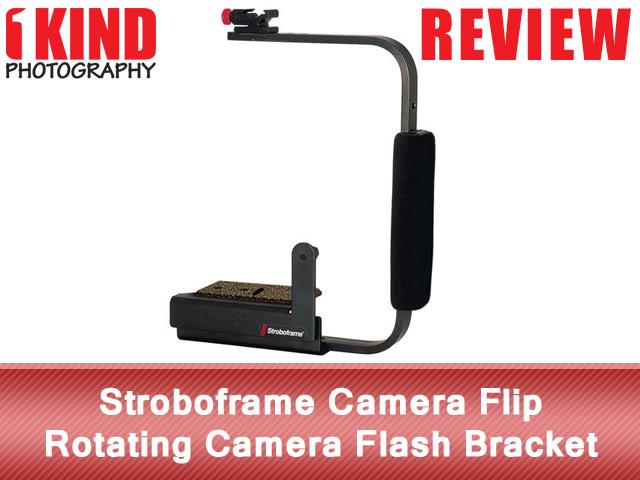 Stroboframe Camera Flip Rotating Flash Bracket
