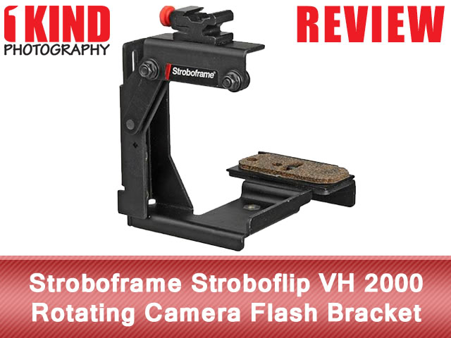 Stroboframe Stroboflip VH 2000 Rotating Camera Flash Bracket