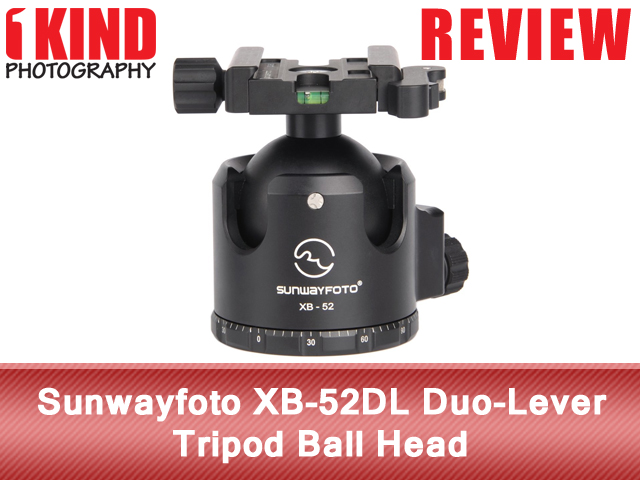 Review: Sunwayfoto XB-52DL Duo-Lever Tripod Ball Head