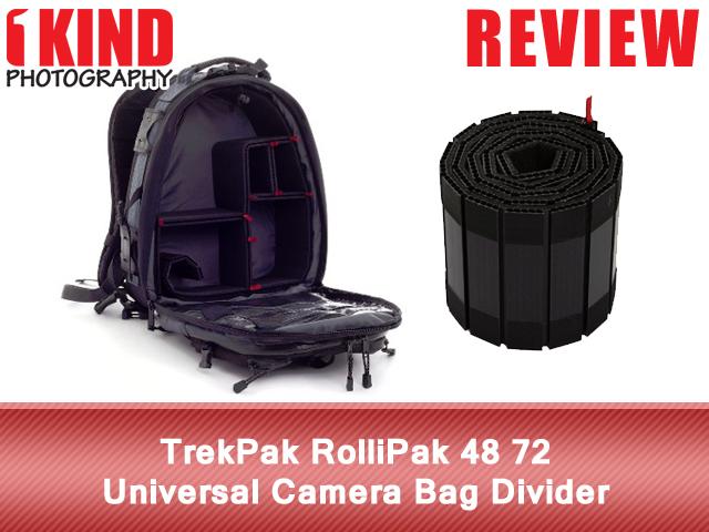 TrekPak RolliPak 48 72 Universal Camera Bag Divider