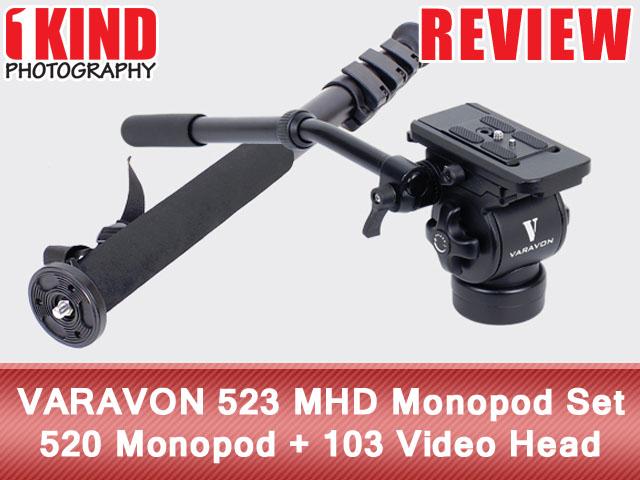 Review: VARAVON 523 MHD Monopod Set - 520 Monopod + 103 Video Head